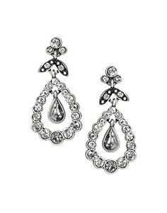 Cath Kidston Crystal Drop Earrings