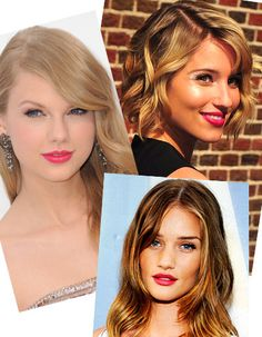 Fuchsia lips are trending. Not sure I can commit, but I'm intrigued.