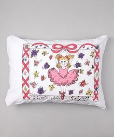 Personalized Ballet Pillow Case