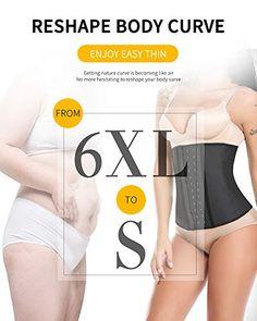 044b9629d9 Vaslanda Women's Waist Trainer Corset Latex Weight Loss Cincher Underbust Tummy  Control Shaper