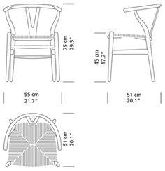 98 best ficha tÉcnica images on pinterest chairs hans wegner and