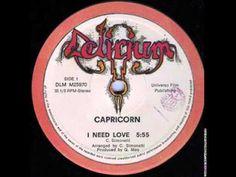 Capricorn - I Need Love - YouTube