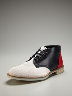 If i were a dude, these would be the shoes I'd wear.   Swear Chaplin Chukka Boots