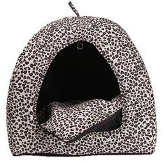 Vivaglory Fashionable Indoor Pet HouseBed Room Nest with Waterproof Base and Soft and Warm Cushion Best Winter Choice for DoggieKitties or Rabbit to Rest and Sleep -- Click on the image for additional details.