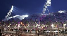 AAMI Park at night #REBdemption