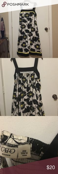 Super cute sundress! 20W Super cute sundress! Cato Dresses Midi