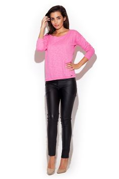 Classic black trousers with matching legs