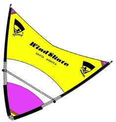 Delta Skate Sail – WindSkate Santa Monica