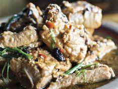 Black Bean-Glazed Pork Spareribs