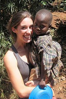 Katie Davis.A young woman who has adopted many, many little girls into her home--In Uganda...where she moved when she was 19. Her passion is to love every single person she can, to be used, and serve love Himself.
