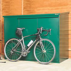Order online at Screwfix.com. High quality, UK-made, all-metal bike shed, providing secure storage for up to 3 bikes and all cycling equipment. Featuring pick-resistant locks, this cycle store offers superior, professional-level security and is the ideal secure store for all mountain bikes, road bikes and general cycling equipment. Fitted with a 3-point locking system, combining a high quality lock with a tough internal deadbolt system, so there is no need for additional internal locks…