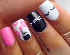 Cutest nails ever!! ❤❤