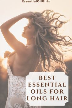 Check out the top essential oils to help your hair grow long and healthy! #essentialoils #diy #aromatherapy #crafts #naturalremedy Essential Oils For Anxiety, Clary Sage Essential Oil, Essential Oils For Hair, Essential Oil Uses, Grow Long Hair, Grow Hair, Relaxing Oils, Hair Essentials, Dull Hair