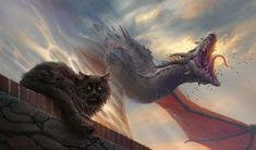 Balerion the black dread by 1oshuart