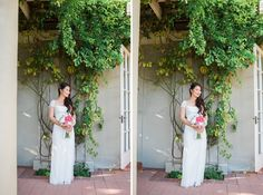 May and Jeff's lovely little elopement in Coronado, California is perfectly inspiring if you're hoping for a small destination wedding. Photos by: Studio Sequoia #elope #elopement #destinationwedding #Coronado