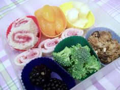 rainbow snack