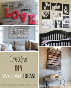 DIY Wall Art • Tips, Ideas Projects!