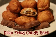 Deep Fried Candy Bars | Lady Anne