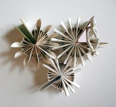 The Thinking Man's Book Sculptures by Tennessee-based artist Daniel Lai, aka Kenjio