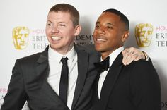 Pin for Later: Stars Celebrate in the Sunshine at the TV BAFTA Awards Professor Green and Reggie Yates