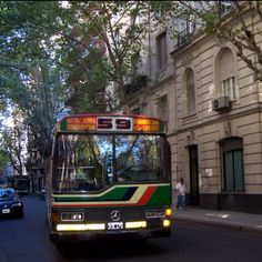Colectivo. Calles de Buenos Aires.