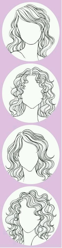 The Fail-Safe Un-Screw-Up-Able Take-This-to-The Salon Guide to Your Perfect Haircut Your best look depends on your hair texture and your face shape Pin this if you have wavy or curly hair Cool Haircuts, Trendy Hairstyles, Fashion Hairstyles, Wedding Hairstyles, Hairstyles Haircuts, How To Draw Hair, Art Plastique, Drawing Tips, Drawing Tutorials