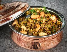 Quinoa Upma (Instant Pot)