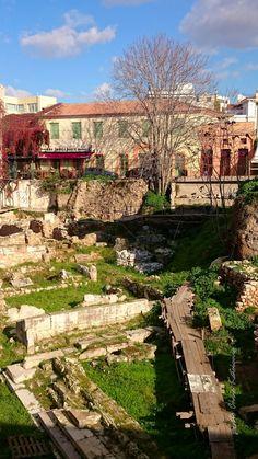 Monastiraki Athens, Vineyard, Dolores Park, City, Travel, Outdoor, Outdoors, Viajes, Vine Yard