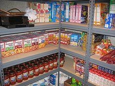 Bulk food buying & storage