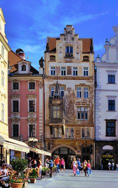 Storch House on the Old Town Square - Prague, Czech Republic