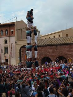 Castellers de Caldes - 3d7 - Caldes de Montbui 13-10-2012