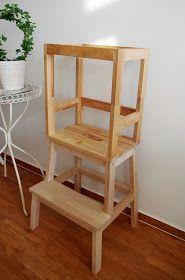 lernturm selber bauen ikea hack aus zwei hockern mit einfacher anleitung ikea ideen. Black Bedroom Furniture Sets. Home Design Ideas