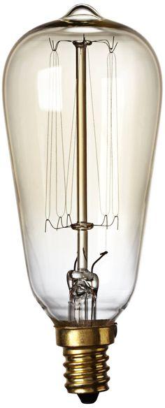Nostalgic 60 Watt Candelabra Base Edison Style Light Bulb - #7X542 | Lamps Plus