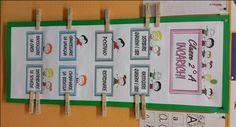 Annunci 193 CARTELLONE INCARICHI4.2 (84.44%) 9 votes Ho preparato questo cartellone per gli incarichi della classe e i miei alunni hanno accolto questa novità con entusiasmo! Nel file PDF trovate tutte le immagini. Buon lavoro! Articoli collegati: Ripassiamo l'alfabeto LE ERE ESERCIZI DI RIPASSO Annunci Classroom Management, Back To School, File, Activities, Google, Alphabet, School, Entering School, Back To College