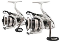 Daiwa Exceler EXE4000H Spinning Reel. Daiwa Exceler EXE Spinning Reels are designed to perform at higher standards with Hardbodyz body design, air rotor, and air bail. These reels are sure to provide a smooth and impeccable performance.