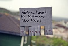 give a <3