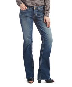 Love this Toledo Hazel Mid-Rise Curvy Bootcut Jeans on #zulily! #zulilyfinds