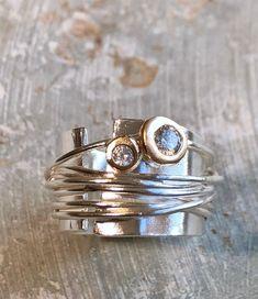 Modern Jewelry, Metal Jewelry, Jewelry Rings, Jewelery, Silver Jewelry, Jewelry Accessories, Jewelry Design, Unique Jewelry, Jewelry Clasps