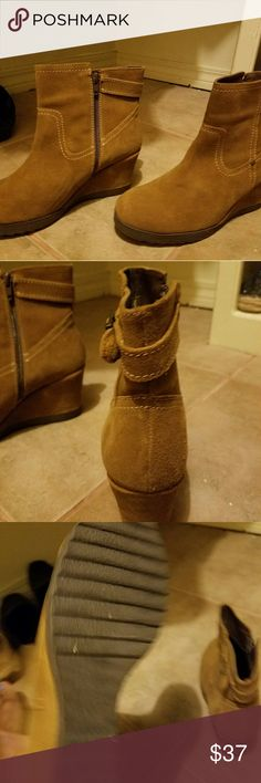 Shoes Gabrielle brown booties new without tag Nine West Shoes Ankle Boots & Booties