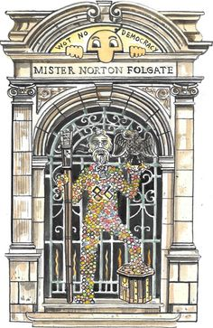 Norton Folgate is saved! Mister Norton Folgate in Colour