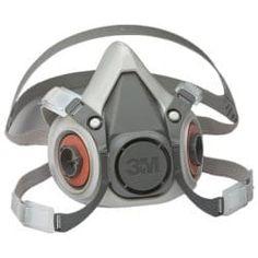 UK 6200 Premium Half Face Respirator Filter Spray Paint Dust Mask 7 in 1