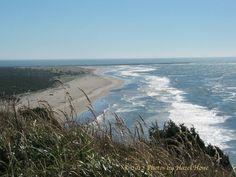 A Pacific ocean beach in Washington state.