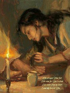 Ele perdoou meus muitos pecados !Eu o amo eternamente!