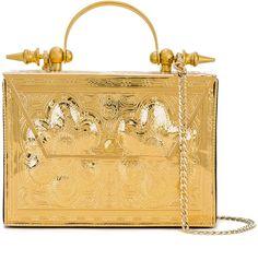 Okhtein paisley floral clutch bag: http://shopstyle.it/l/siA