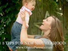 """Tips For the First Weeks of Motherhood,"""" by Jocelyn Alt - Our top five tips for new moms. One Week, Ohana, Haiku, Case Study, New Moms, The One, Presentation, Deck, Couple Photos"""