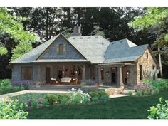 ePlans French Country House Plan – Graceful Cottage – 2482 Square Feet and 4 Bedrooms from ePlans – House Plan Code HWEPL76578