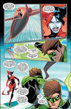 green lantern hal jordan vs red-black lantern harley quinn 6