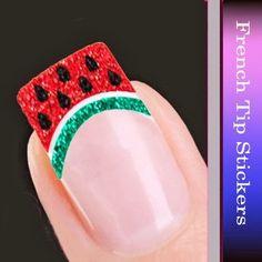 Cool Girls Stuff: Watermelon Nail Art