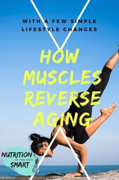 Muscles are vital when it comes to anti-aging. A healthy and strong muscle keeps your energy level high and helps to prevent aging. #antiaging #musclesmatter #reverseaging #health #fitness #healthylifestyle