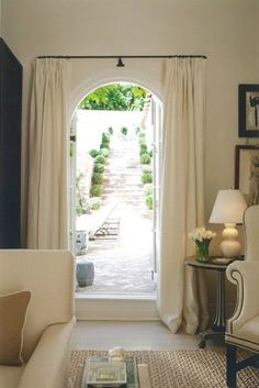 Cream interior with exterior access